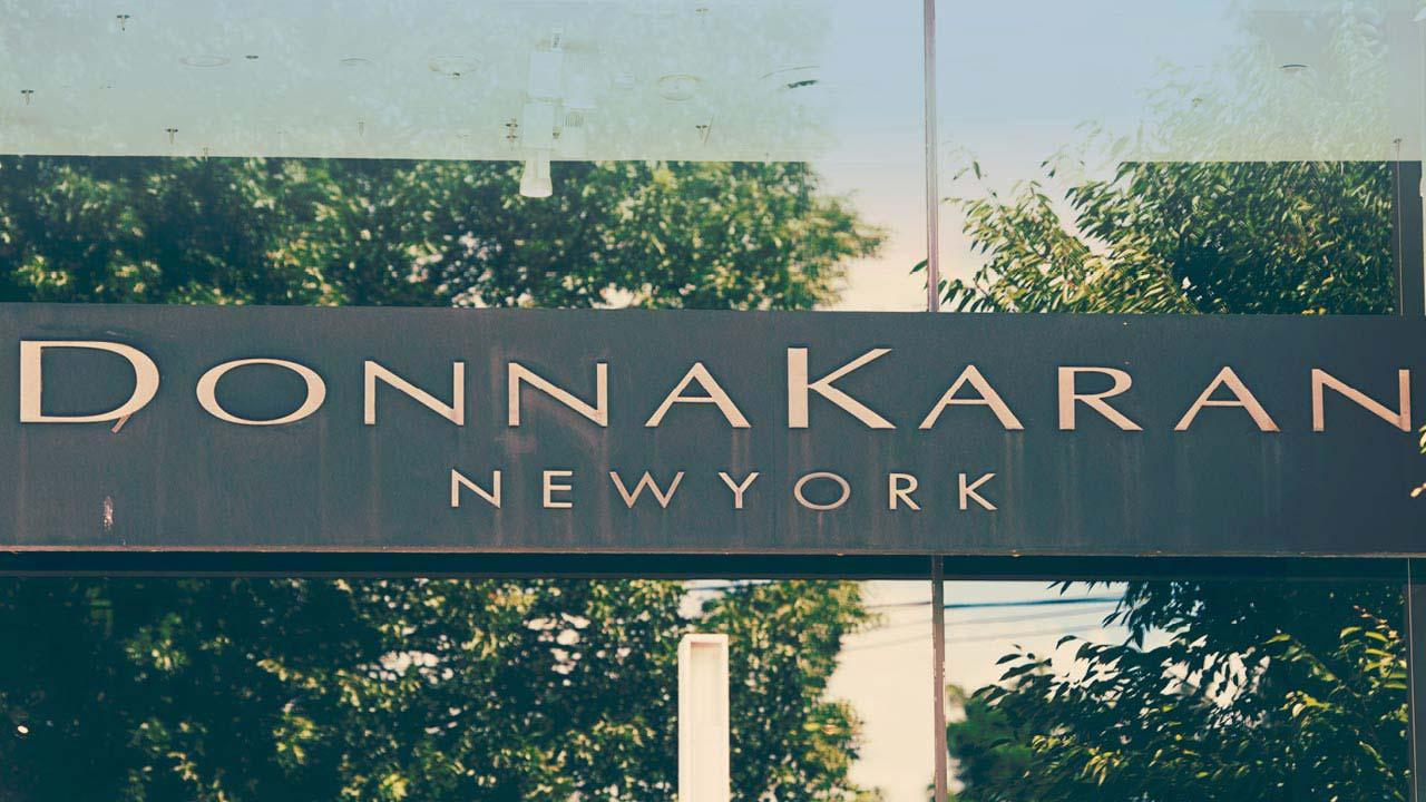 Donna Karan store sign